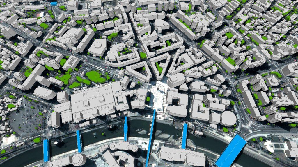 3D Buildings LuxCarta