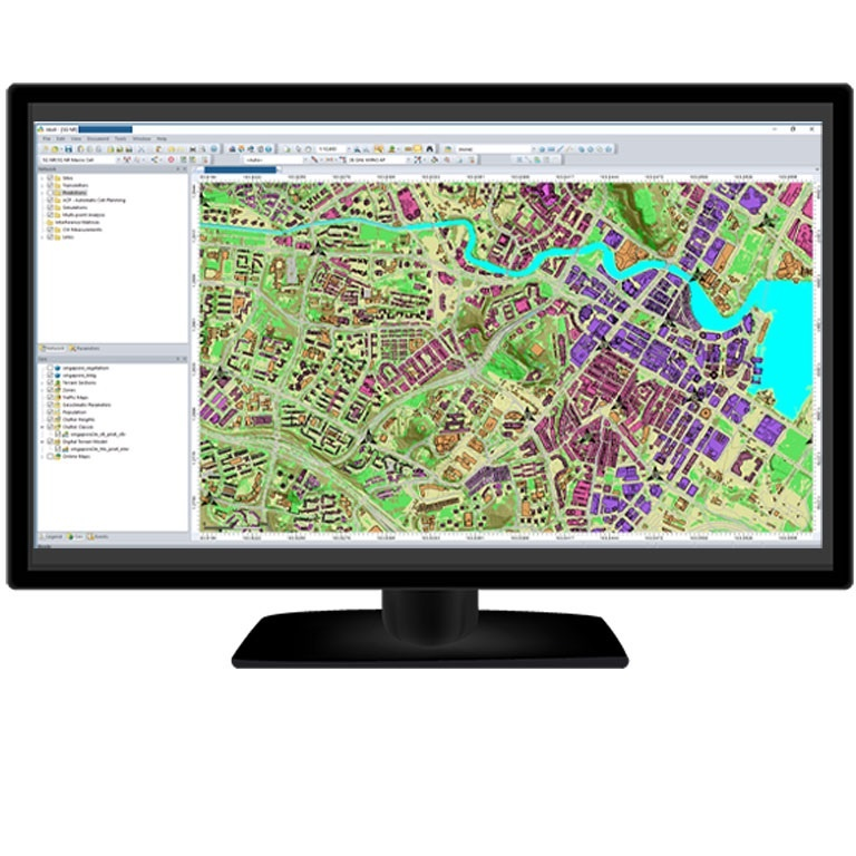 rf mapping planning tool for visualization