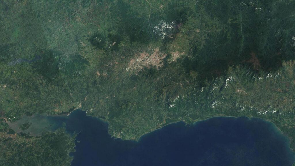 earth digital terrain model